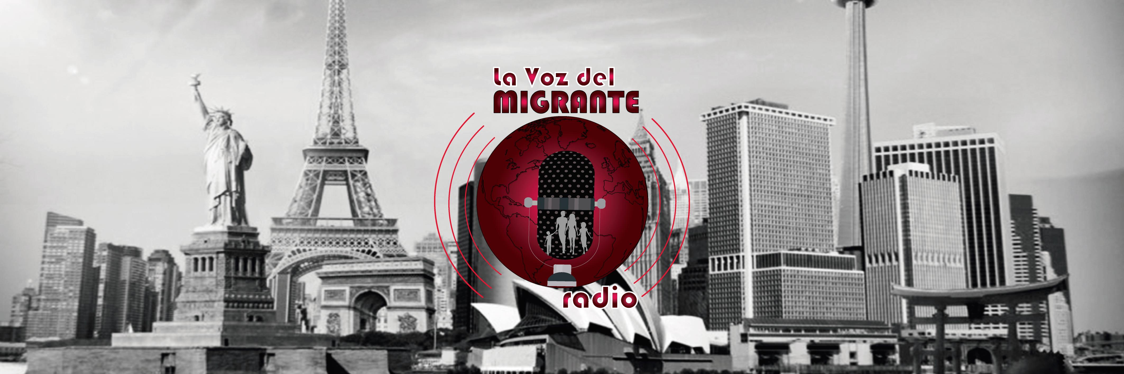 Logo la voz del migrante