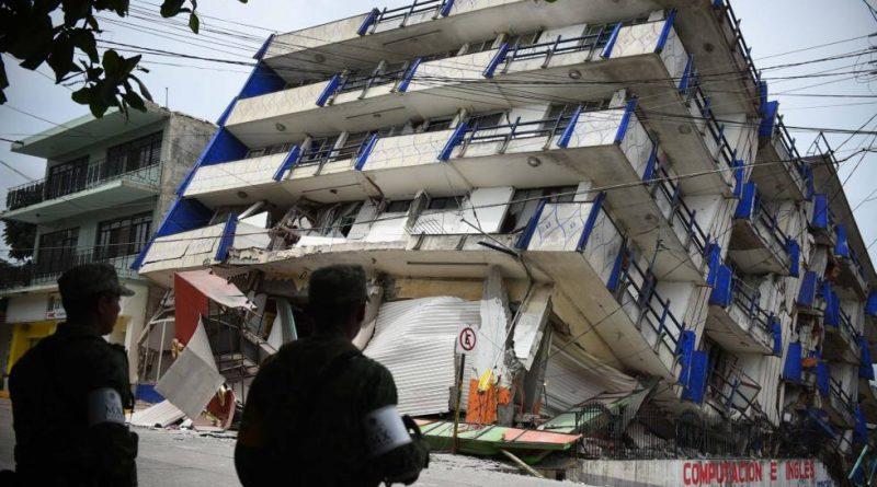 Un sismo de 7,1° sacudió México