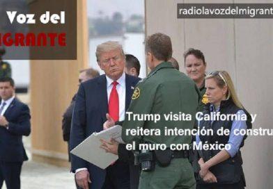Dos escenarios se vivieron con la visita de Trump a California