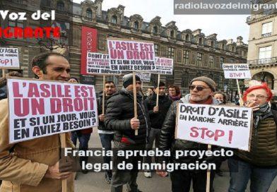 Macron endurece las normas de inmigración.
