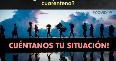 [NOTA] ¿Eres Migrante y estás atravesando cuarentena fuera de tu país? ¡Cuéntanos tu situación!